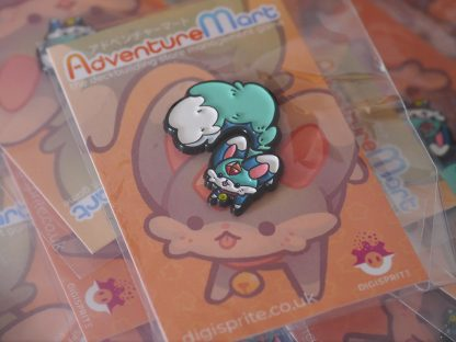 Mischievous Carbuncle Pin in Wrapping