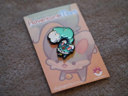 Mischievous Carbuncle Pin out of Wrapping